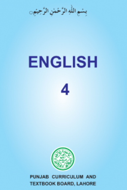 4th Class English Textbook by PCTB in PDF