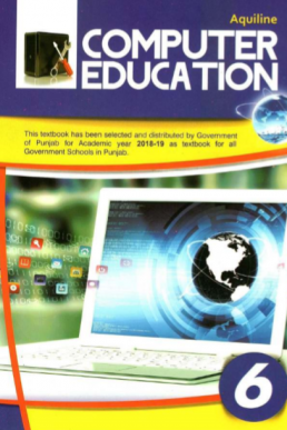 6th Class Computer Education (EM) Textbook by PCTB in PDF