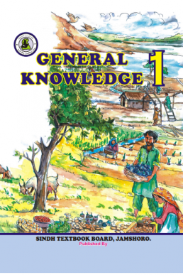 Class One General Knowledge Text Book in English by Sindh Board