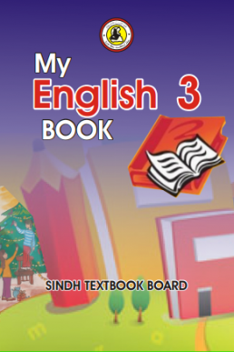 Three Class My English Text Book in PDF by Sindh Board