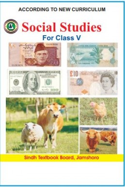 5th Class Social Studies Text Book in English by Sindh Board (STBB)
