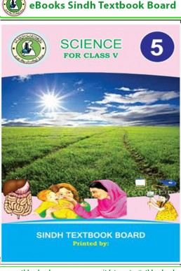 5th Class Science Text Book in English by Sindh Board (STBB)